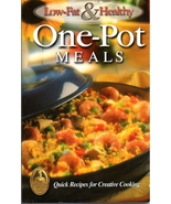 Low-Fat and Healthy ONE-POT Meals Cookbook (paperback) - $7.00