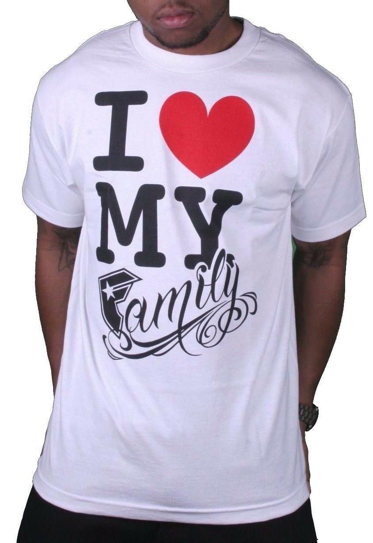 Famous Stars & Straps Hommes Fsas Love My Family T-Shirt Petit 105633 Nwt