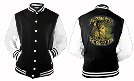 Smoke The Best Smoke Cannabis 420 Weed Letterman Varsity Baseball Fleece Jacket - $28.70