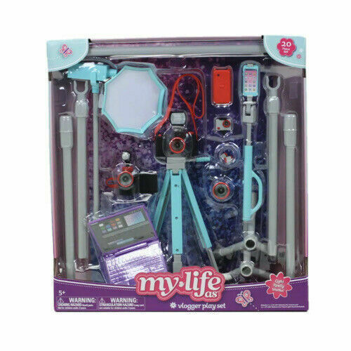 """My Life As Groovy Room Playset Accessories 1970/'s Accessories for 18/"""" Dolls New"""