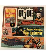 "Vintage 1975 Hasbro The Adventures of GI Joe Comic Book & Record 12"" LP ... - $46.74"