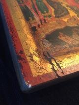 Handmade 80s European Byzantine Icon Art: Resurrection image 4