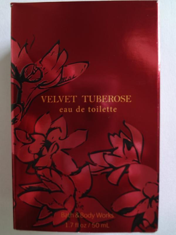 Bath & Body Works Luxuries VELVET TUBEROSE Eau De Toilette 1.7 fl oz / 50 ml