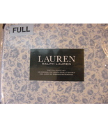 Ralph Lauren Dusty Blue Country Cottage Floral Sheet Set Full - $77.00