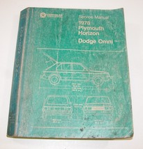 1978 Dodge Plymouth Omni Horizon Service Manual Good Used Condition #A - $14.80
