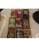 Lot of 10 Sci-Fi novels by Robert A. Heinlein - $22.28
