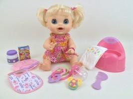 Baby Alive 2012 Real Surprises Doll Hasbro Blonde Interactive Lot Eats Poop - $163.30