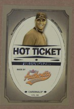2005 Fleer Authentix Hot Ticket Insert Cardinals Albert Pujols #6 Of 10 - $1.49
