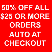 50% OFF ALL $25 OR MORE AUTOMATICALLY AT CHECKOUT MAGICK Cassia4 - $0.00