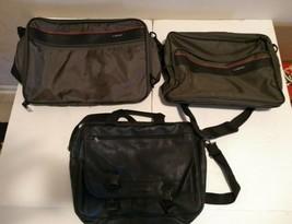 Lot of 3 Bags Vintage Delsey Renwick Duffle Bag Laptop - $24.74