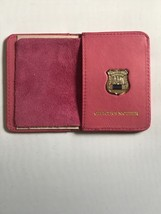 Police Officer  Mother Generic Mini Shield   PINK Leather ID Wallet - 2018 - $25.74
