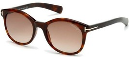 NEW Tom Ford FT0298-52F Tortoise / Brown Sunglasses ( NO CASE) - $116.97