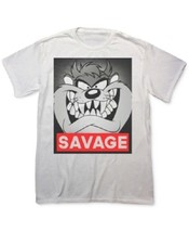 Fifth Sun, Men's, Savage Taz Graphic T-shirt, White, Sz. Small - $11.88
