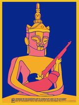 "20x30""Political World Solidarity Socialist Poster CANVAS.Laos.KAmpuchea.6249 - $75.00"
