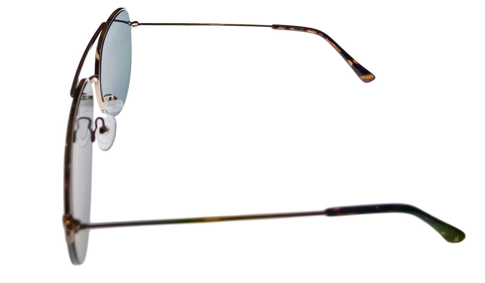Kenneth Cole Reaction Mens Sunglass Gold Rimless Aviator, KC1307 32N image 3