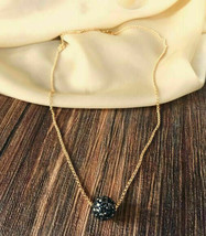 American Diamond Pear and Gold Plated Necklace and Chain For Women  7195 - $15.67