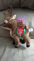 "2015 Santa's Reindeer CUPID New Licensed Plush NWT Tags 12"" Christmas Xmas - $9.99"