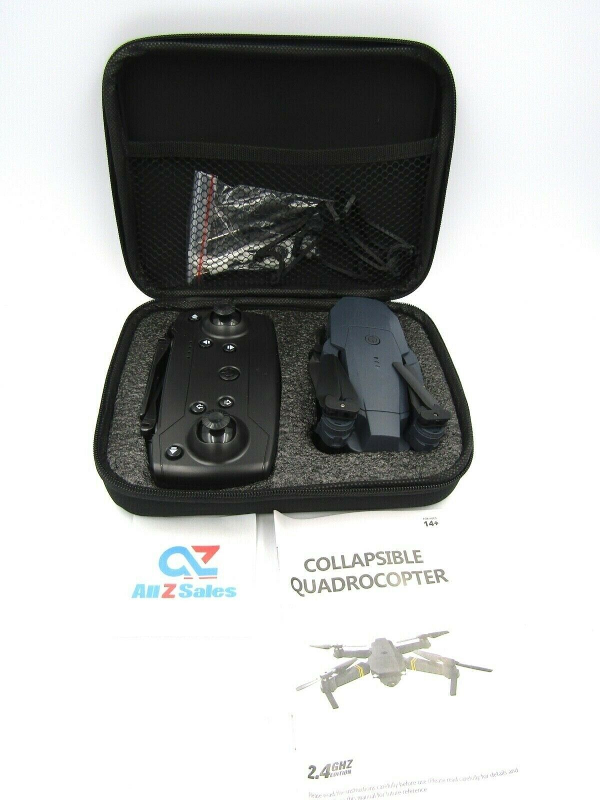 Primary image for Camera Mini Drone Collapsible Quadrocopter 2.4 GHz With Remote, QuadCopter - NEW