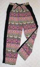 G B Girls Palooza Pants Sz 6 6X Black Pink Pull On Pockets Casual Spring... - $19.79