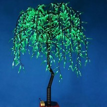 1.2 m LED Willow Tree Light 336 pcs LEDs Green Color Rainproof Outdoor decor - $235.00