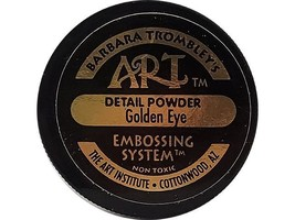 Barbara Trombley's The Art Institute Detail-Embossing Powder-Golden Eye image 2
