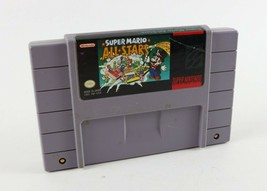 Super Mario All-Stars (Super Nintendo Entertainment System, 1993) - $18.32