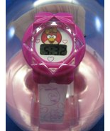 Angry Birds Girls Pink LCD Digital Watch Hearts - $13.84