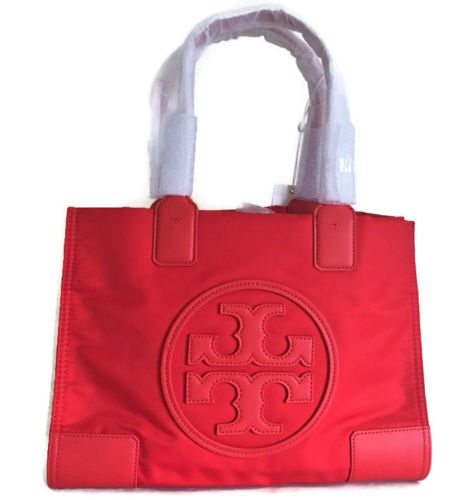 d2e2ae8f709 Tory Burch Mini Ella Tote Bag ~ Poppy Orange and 50 similar items. 12