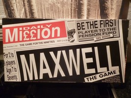 Daily Mission Board Game Maxwell the Game Be the First Player to Pension... - $10.65