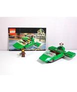 Lego Star Wars Set 7124 Episode I Flash Speeder Complete with 1 Minifigure - $34.60