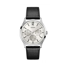 Guess - Men's Stainless Steel Black Watch - £130.52 GBP