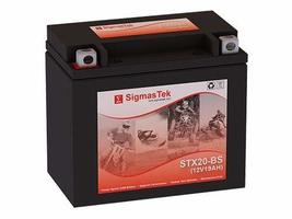 Power Max GTX20-BS Motorcycle Battery (Replacement) - $51.47