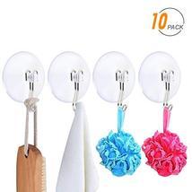 Suction Cup Hooks, SUNDOKI 10 Pack Vacuum Kitchen Towel Hooks Wreath Hangers for image 12