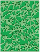 Provo Craft Cuttlebug Embossing Folder Floral Screen #37-1610