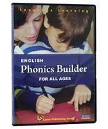 English Phonics Builder All Ages PC CD-ROM LP Laser Publishing Windows M... - $13.17