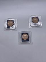 Estee Lauder Perfecting Pressed Powder Light -lot Of 3 Travel Size Refill - $24.74
