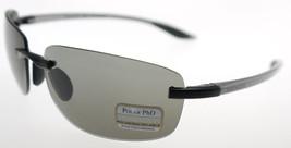 SERENGETI ROTOLARE Aluminum Satin  Black / Polarized PhD CPG Sunglasses ... - $161.70