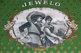 Vintage Jewelo Embossed Inner Cigar Label, 1910's - $5.89