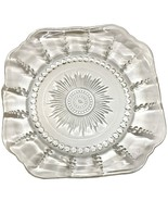 "Federal Depression Crystal Glass Columbia 8 1/2"" Soup Salad Bowl, EXCELLENT COND - $14.95"
