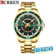 Men's Curren Modern Sports Waterproof Watch With Back Dial - $59.00