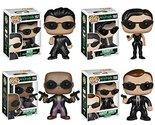 Funko The Matrix POP! Movies Vinyl Collectors Set: Neo, Trinity, Morpheus & Agen