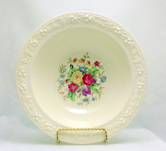 Homer Laughlin Eggshell Theme round bowl floral... - $25.00