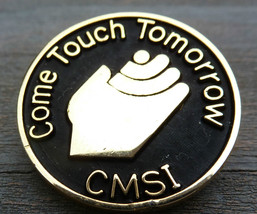 Come Tactile Tomorrow Cmsi Broche - $10.61