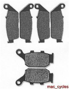 Honda Disc Brake Pads CB400FII/III 1992 & 1994-1997 Front & Rear (3 sets)