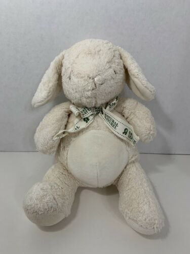 Primary image for Toys R Us Natural white cream tan plush bunny rabbit Geoffrey 2008 baby toy