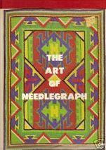 NEEDLEPOINT:The Art of Needlegraph,Goldman, HBDJ, 1974 - $7.25