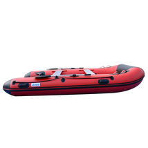 BRIS 12ft Inflatable Boat Dinghy Raft Pontoon Rescue & Dive Raft Fishing Boat image 10