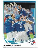 Baseball Card- Rajai Davis 2013 Topps #311 - $1.25