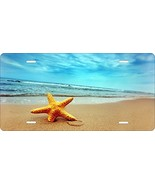 Beach Novelty Custom Personalized Tag Vehicle Car Auto License Plate - $16.75