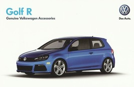 2012 Volkswagen GOLF R accessories brochure catalog sheet 12 US VW - $9.00